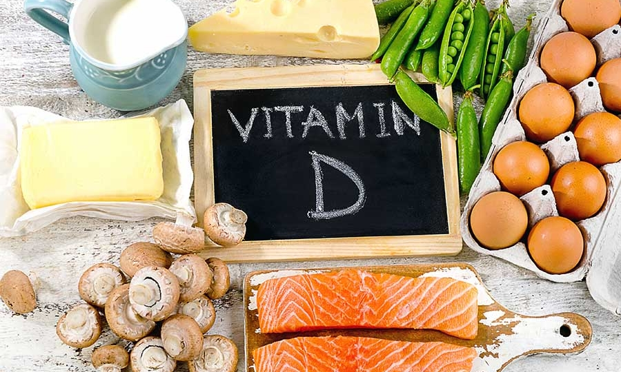 Vitamin D, fish, mushrooms, eggs and more