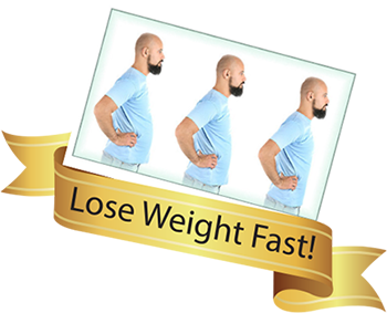 Man Before and After Weight Loss Banner